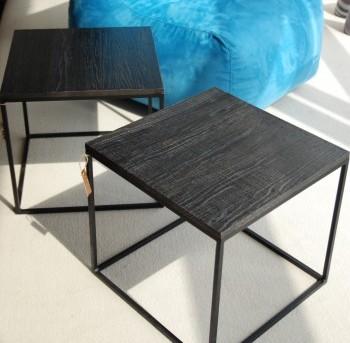 stalai staliukai baldai metalo rėmas