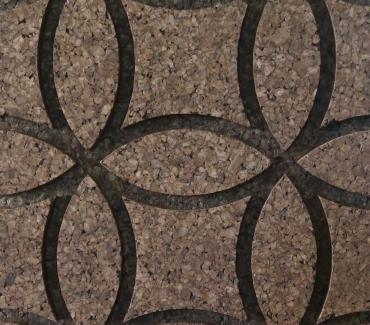 Decork Cirkles M1 izoliacinio degto kamščio plokštės