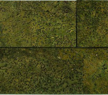 Muratto Crok bricks Kamštine plyta 3D žalia